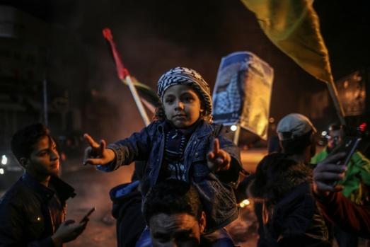 Gazze sokağa döküldü!