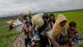 Myanmar'dan kaçan Müslümanlar
