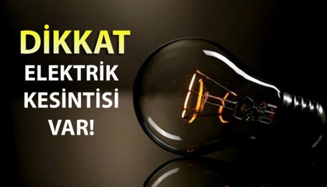 Ankara'nın 14 ilçesine elektrik verilemeyecek!
