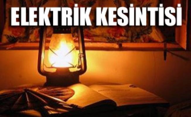 Ankara'da üç günlük elektrik kesintisi var ( 7-8-9 Temmuz 2017)