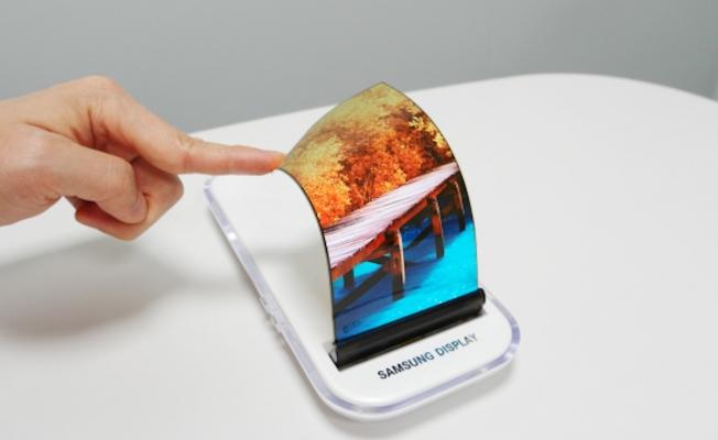 Samsung'un katlanabilir telefonu Galaxy X çıktı!