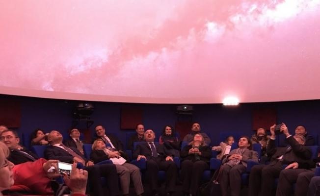 Türkiye'de bir ilk! 4K çözünürlüklü planetaryum...