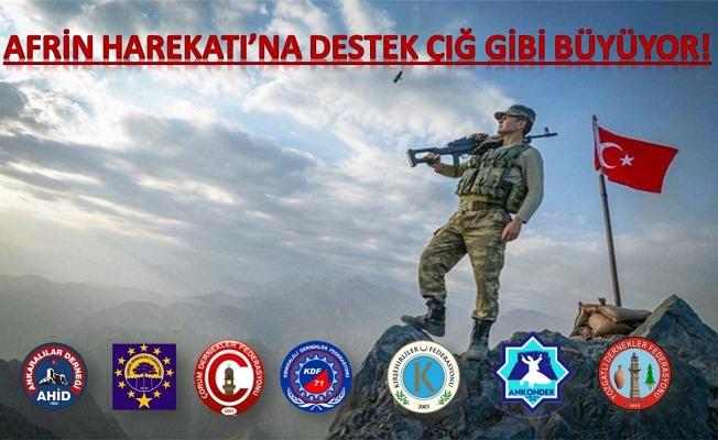 ZEYTİNDALI HAREKÂTINA ANADOLU'DAN TAM DESTEK!