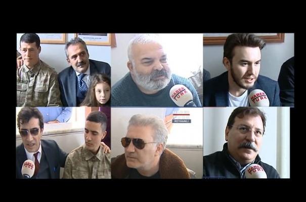 Afrin Harekatı'na sanatçı desteği