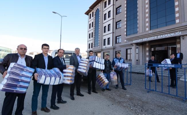 Akyurt Belediyesi Türkmen Çocukları Unutmadı!