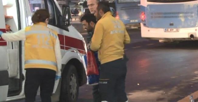 Kızılay'da Yayaya Otobüs Çarptı