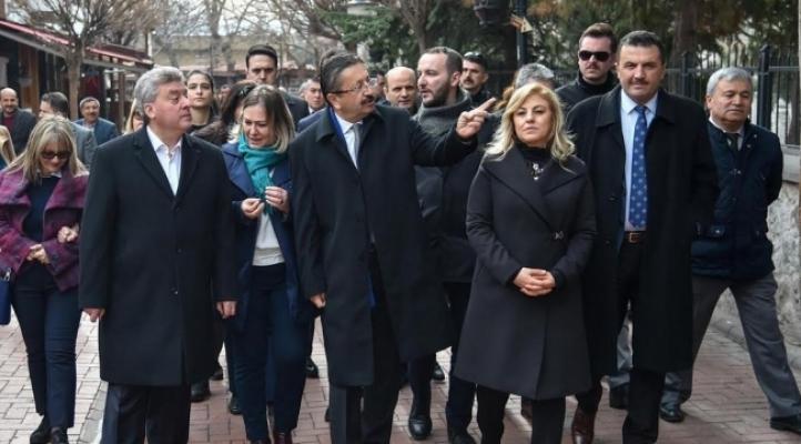 Makedonya Cumhurbaşkanı Altındağ'da