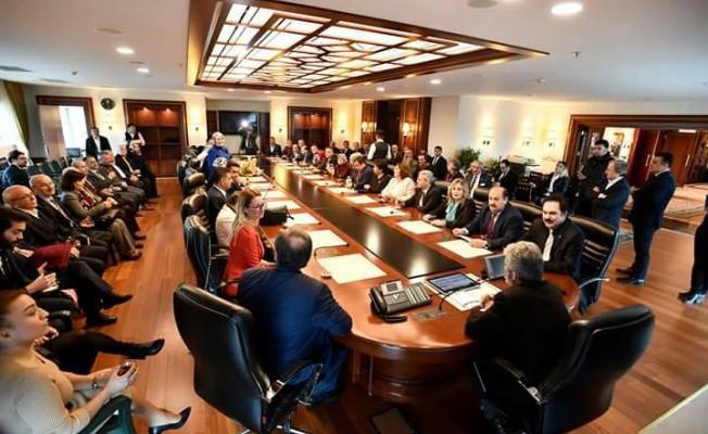 'Ankara Belediyesindeki değişimden memnunuz'