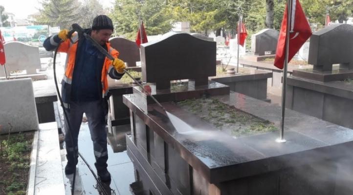 Ankara'daki 969 Şehidin Kabri Temizlendi