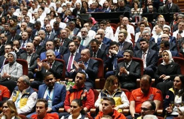 Erdoğan hekimleri kabul etti