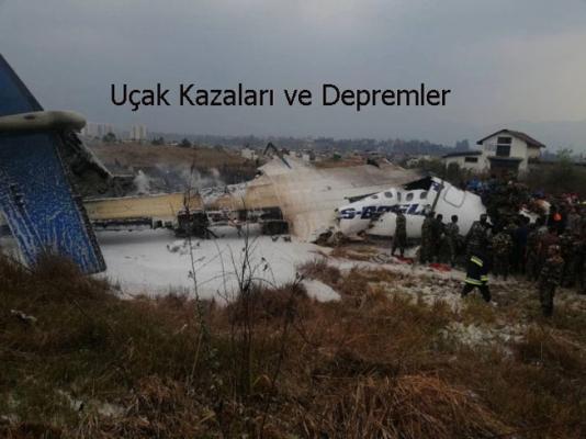 Uçak Kazaları, Deprem'in Habercisi Mi?