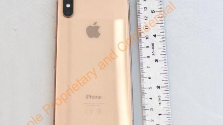 Apple'ın yeni telefonu sızdı ! İşte iPhone X Gold
