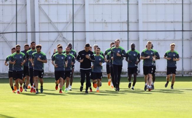 Atiker Konyaspor'da Kasımpaşa maçı hazırlıkları başladı