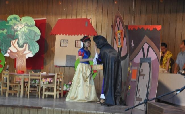 Keskin'de çocuklar tiyatro oyunu sahneledi