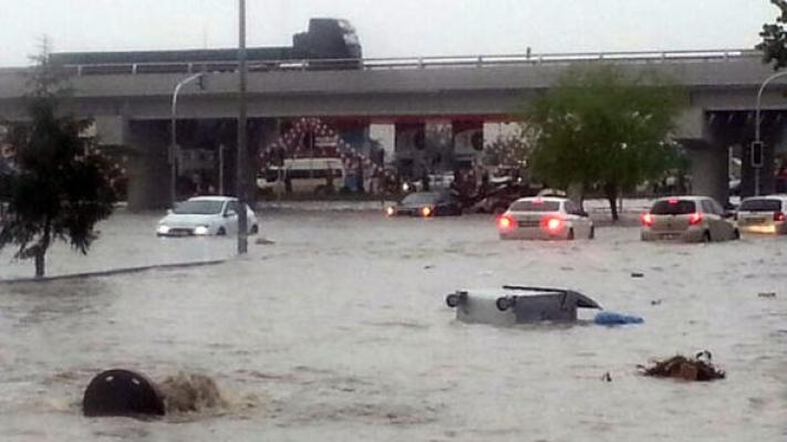Ankara'da Çarşamba'ya kadar sağanak yağış var
