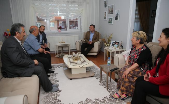 Başkan Ercan Şehit Annelerinin Kapısını Çaldı!