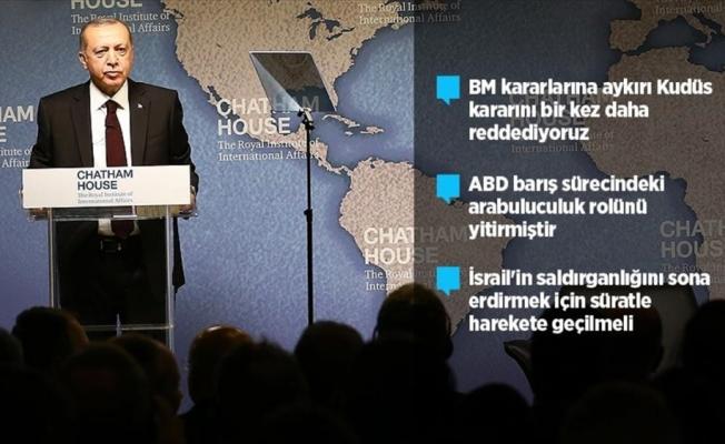Cumhurbaşkanı Erdoğan: ABD Ortadoğu'da arabuluculuk rolünü yitirmiştir