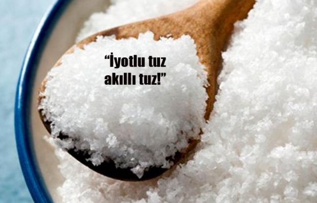 İyotlu tuz zeka geriliğini önlüyor