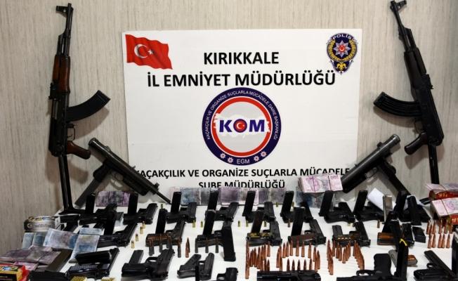 Kırıkkale'de kaçak silah operasyonu