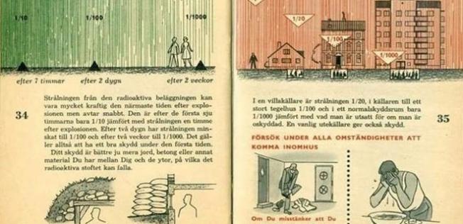 'Savaş uyarısı' broşürleri dağıtılıyor