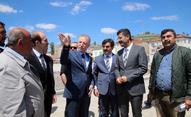 Sivas Valisi Gül, Şarkışla'da yatırımları inceledi