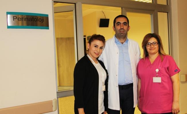 Sivas'ta perinatoloji polikliniğini hasta kabulüne başladı