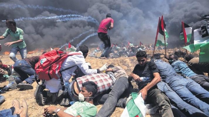 Türkiye Filistinli yaralılar için devreye girdi
