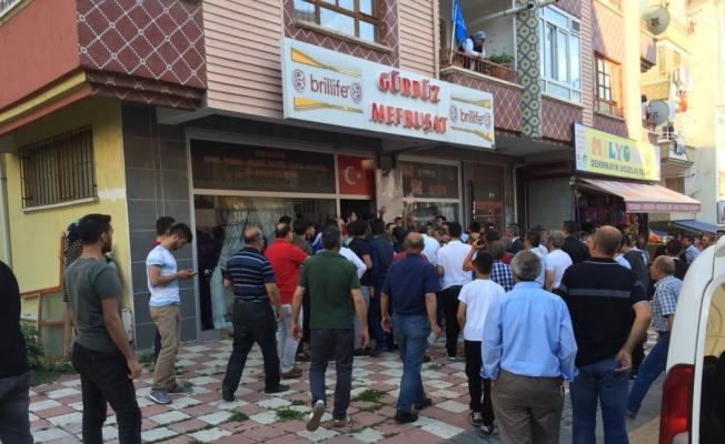 AK Parti ve İYİ Parti üyeleri arasında arbede