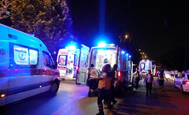 Başkentte trafik kazası: 8 yaralı
