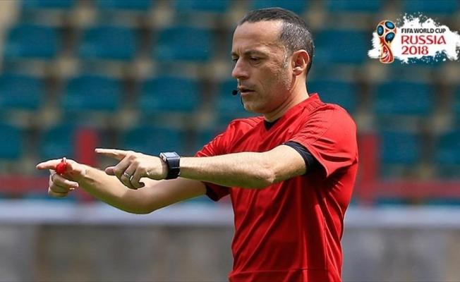 Cüneyt Çakır Fas-İran maçını yönetecek