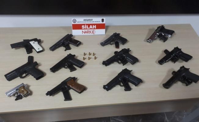 Aksaray'da silah kaçakçılığı operasyonu