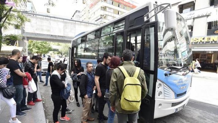 Ankara'da beyaz halk otobüslerine yeni hatlar