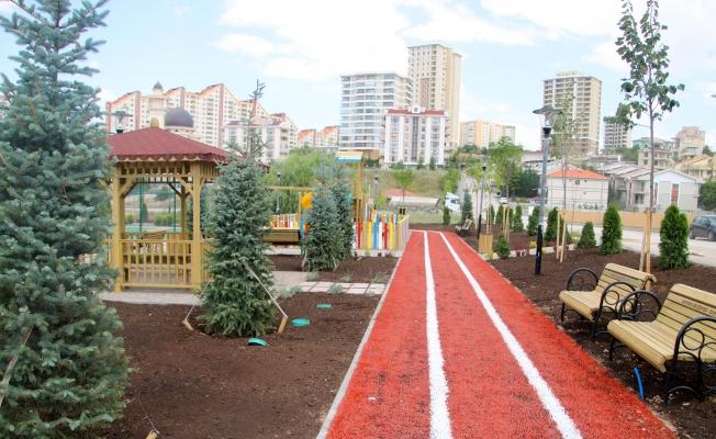 Çankaya'ya Yeni Park!
