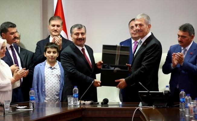 Fahrettin Koca Sağlık Bakanlığında görevi devraldı