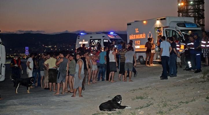 Kurtarılan 102 göçmen Silifke'ye getirildi