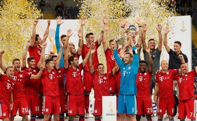 Almanya Süper Kupası Bayern Münih'in