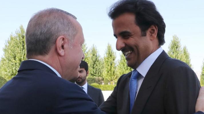 Katar Emiri geldi, önemli görüşme başladı!
