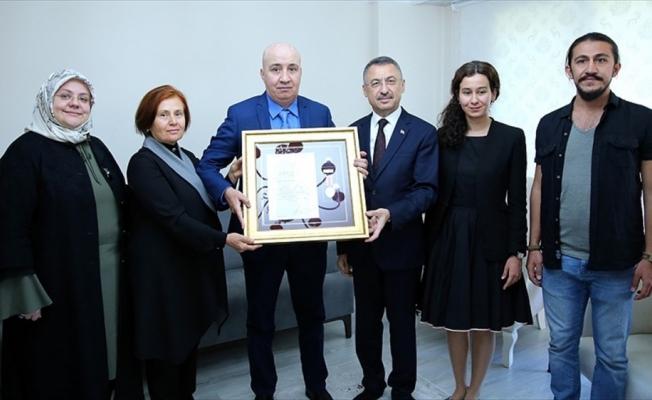 15 Temmuz Gazisi Aslan'a Devlet Övünç Madalyası