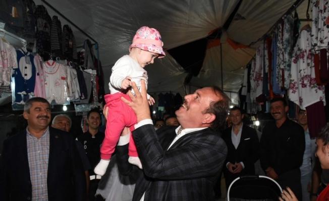 AK Parti Milletvekili Karacan, Mihalgazi'de panayırı gezdi