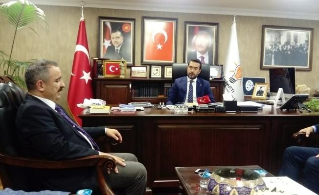 AYD Başkanı Sinan Burhan, AK Parti Ankara İl Başkanını Ziyaret Etti!