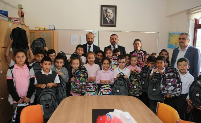 Başkan Ercan Öğrencilerinin Okul Heyecanını Paylaştı
