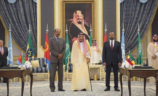 Etiyopya ve Eritre Suudi Arabistan'da barış anlaşması imzaladı