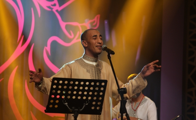 Faslı müzisyen Redwan El Asmar Konya'da sahne aldı