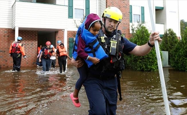 'Florence kasırgası 10 milyon kişiyi etkileyebilir'
