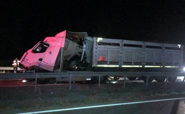 Kırıkkale'de trafik kazası: 6 yaralı