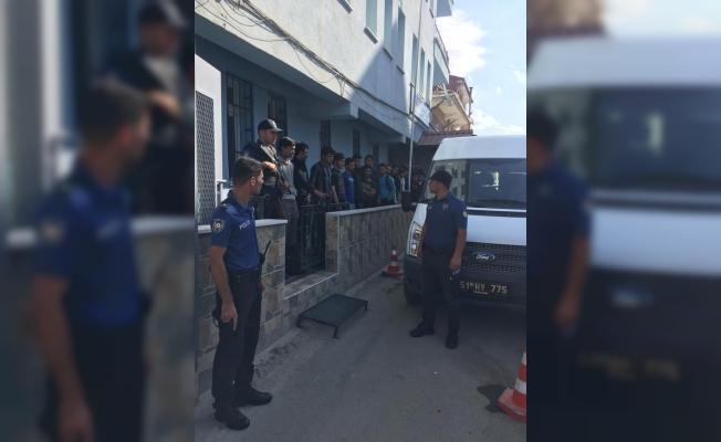 Niğde'de 23 düzensiz göçmen yakalandı