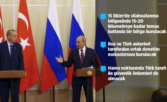 Türkiye ve Rusya'dan İdlib'de silahsız bölge kararı