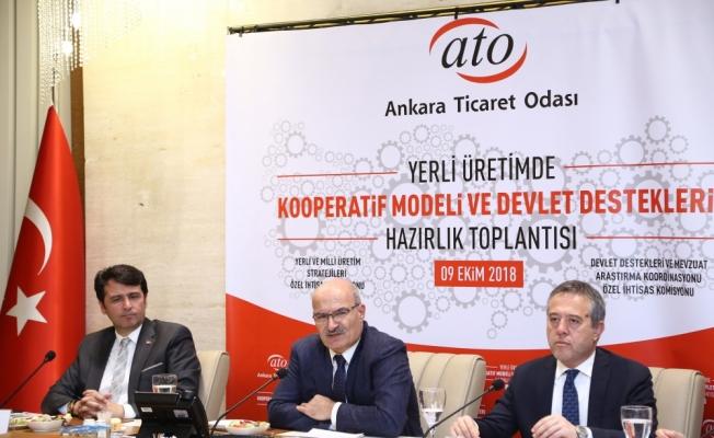"""ATO'da """"Yerli Üretimde Kooperatif Modeli"""" toplantısı"""