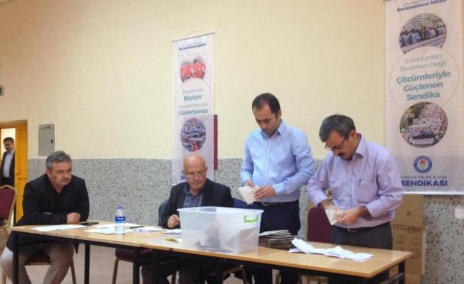 Beypazarı'nda Eğitim-Bir-Sen'in temsilcilik seçimi
