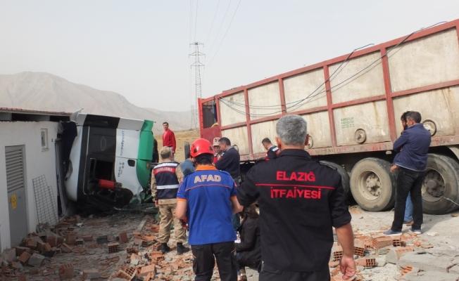 Elazığ'da trafik kazası: 1 ölü
